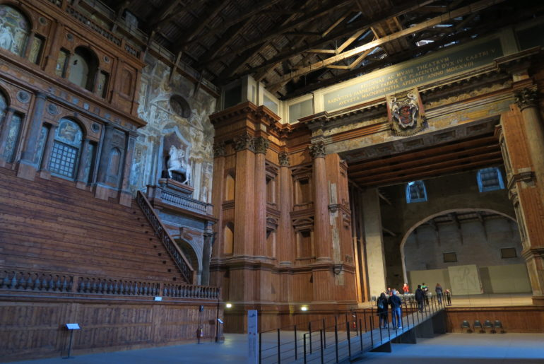 Teatre Farnese in Parma, Italy